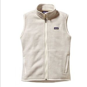 Patagonia better sweater fleece vest raw linen